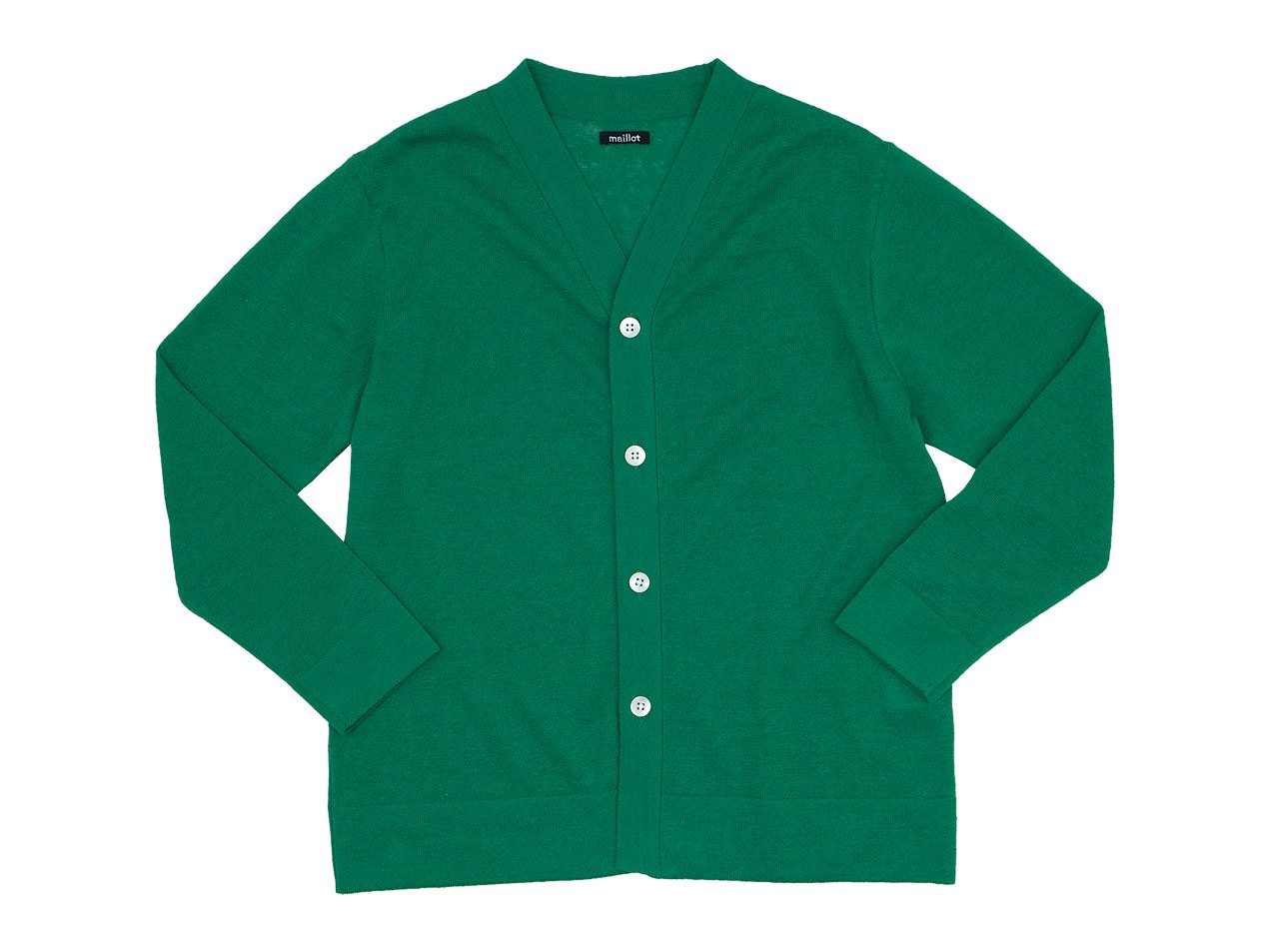 maillot mature summer cardigan GREEN
