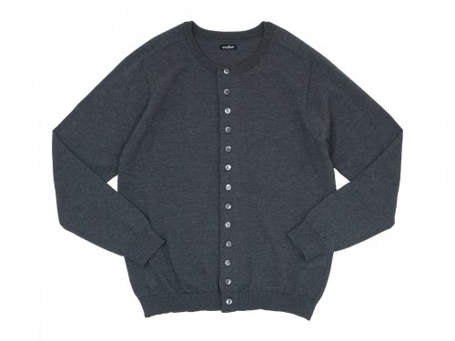 maillot mature C/P crew cardigan DARK GRAY