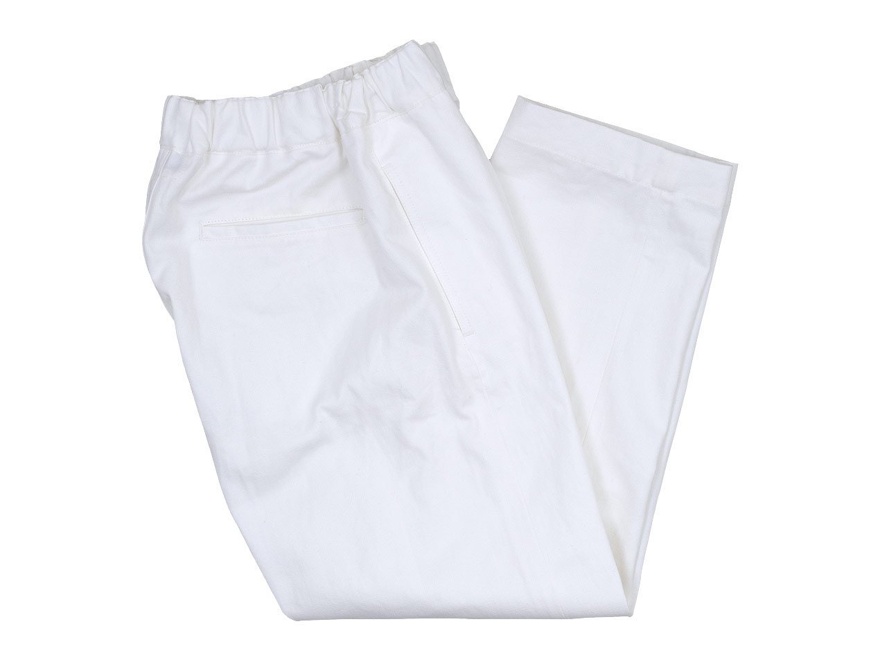 Charpentier de Vaisseau Bradley Herringbone Pants WHITE