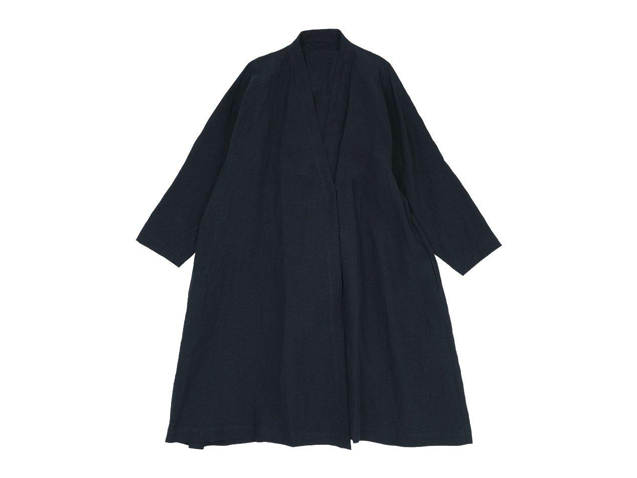 Atelier d'antan Valery(ヴァレリー) Coat BLACK
