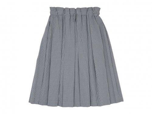 Atelier d'antan Ehren(エーレン) Skirt WHITE X BLACK CHECK