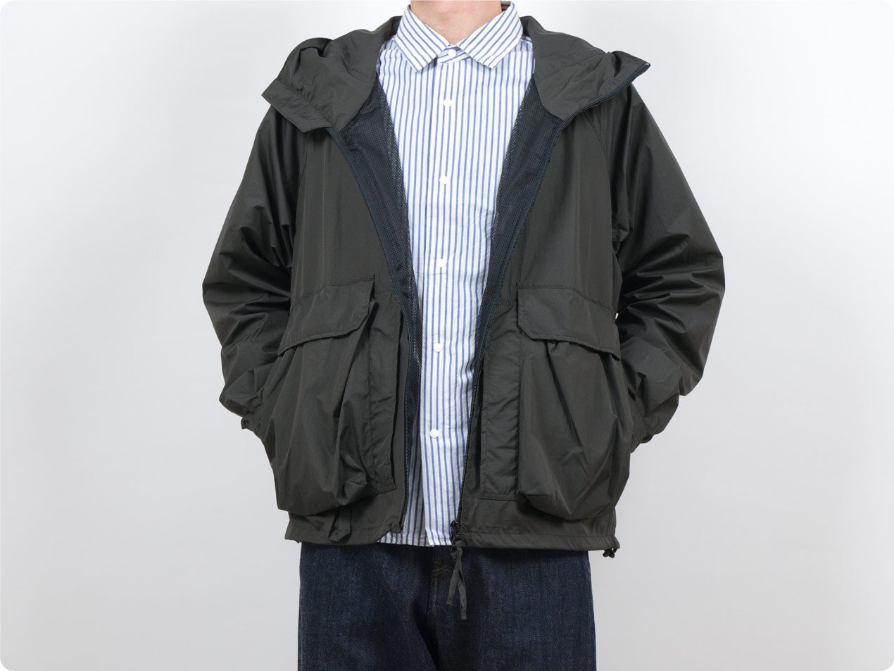 ENDS and MEANS Fishing Jacket African Black
