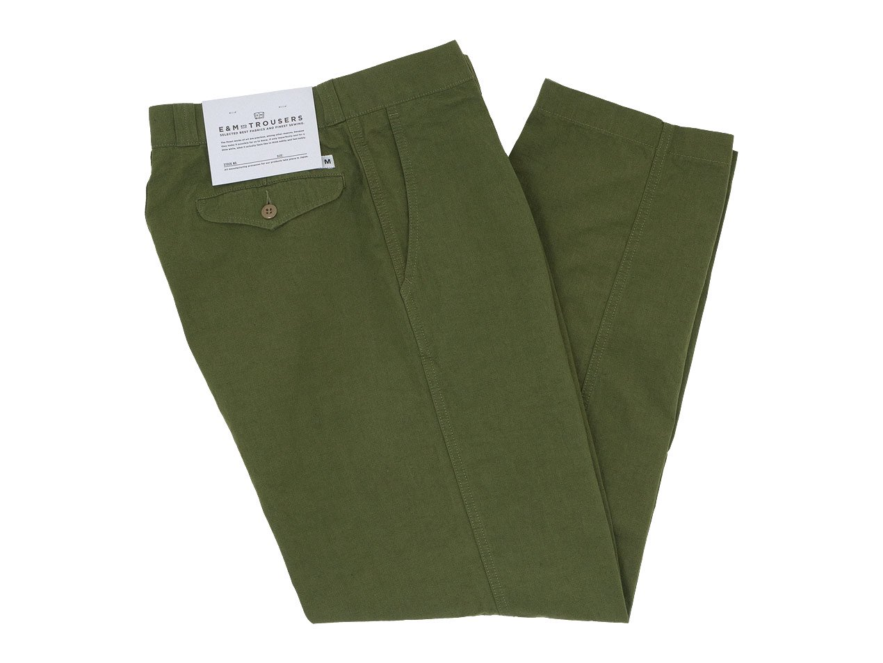 ENDS and MEANS Army Chino OLIVE