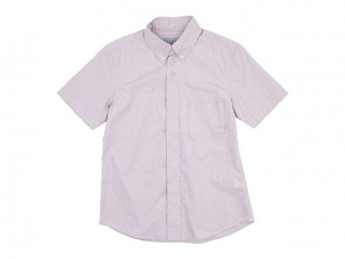 nisica ボタンダウンシャツ 半袖 PINK