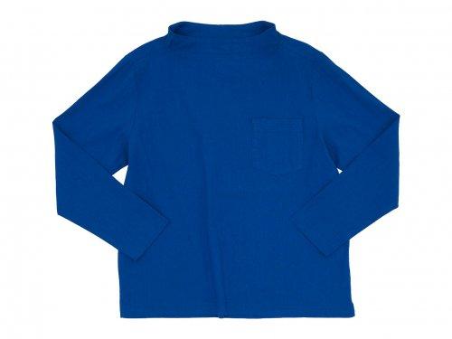 nisica ガンジープルオーバーシャツ 長袖 BLUE