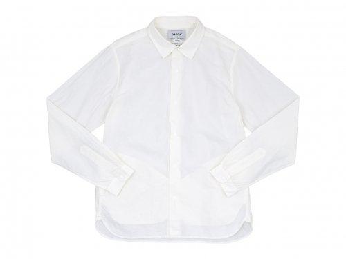 YAECA コンフォートシャツ スタンダード WHITE 〔メンズ〕 【10151】