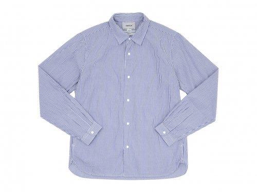 YAECA コンフォートシャツ スタンダード BLOCK STRIPE 〔メンズ〕 【10151】