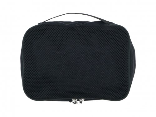 ENDS and MEANS Travel Pouch M BLACK