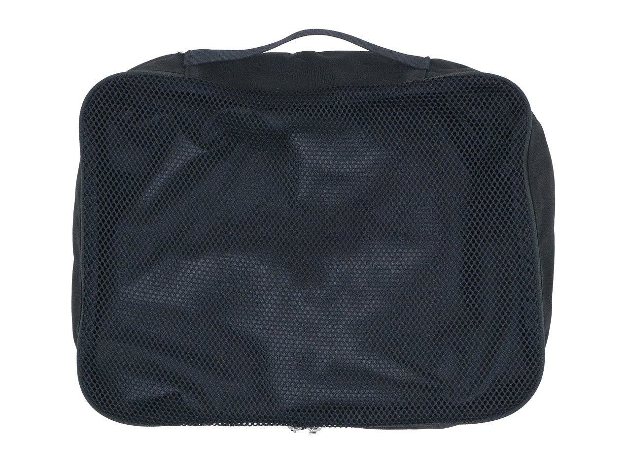 ENDS and MEANS Travel Pouch L BLACK