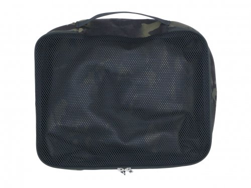 ENDS and MEANS Travel Pouch L BLACK MULTI CAM