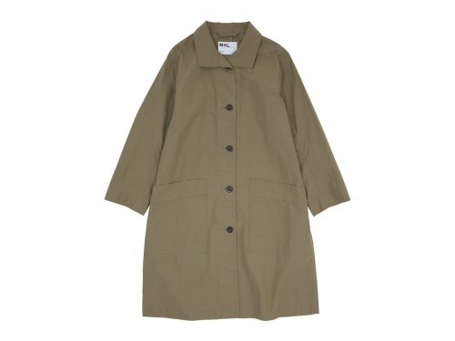 MHL. PROOFED COTTON POPLIN COAT 43BEIGE 〔レディース〕