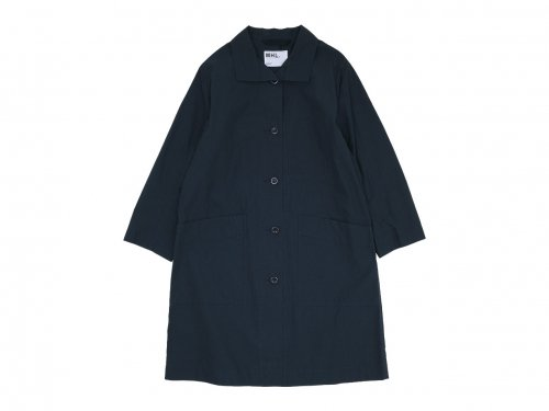 MHL. PROOFED COTTON POPLIN COAT 121NAVY 〔レディース〕