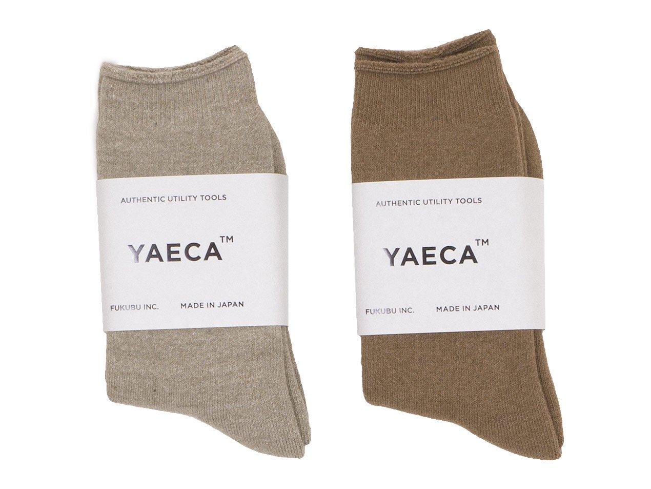 YAECA コットンパイルソックス 【11903】