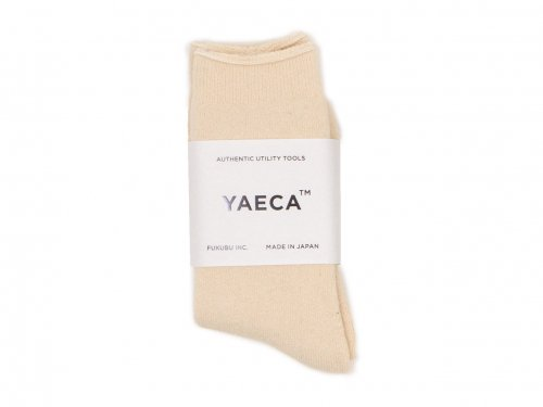 YAECA コットンヘンプパイルソックス 【11902】