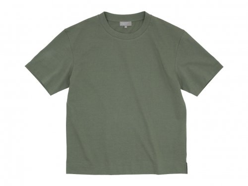 MARGARET HOWELL FINE DENSE COTTON JERSEY T-SHIRTS 181KHAKI〔メンズ〕
