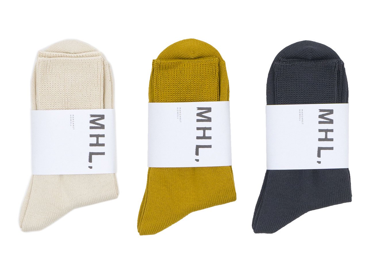 MHL. ROUGH COTTON SOCKS 〔レディース〕