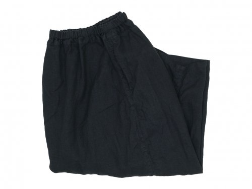 ordinary fits linen ball pants BLACK