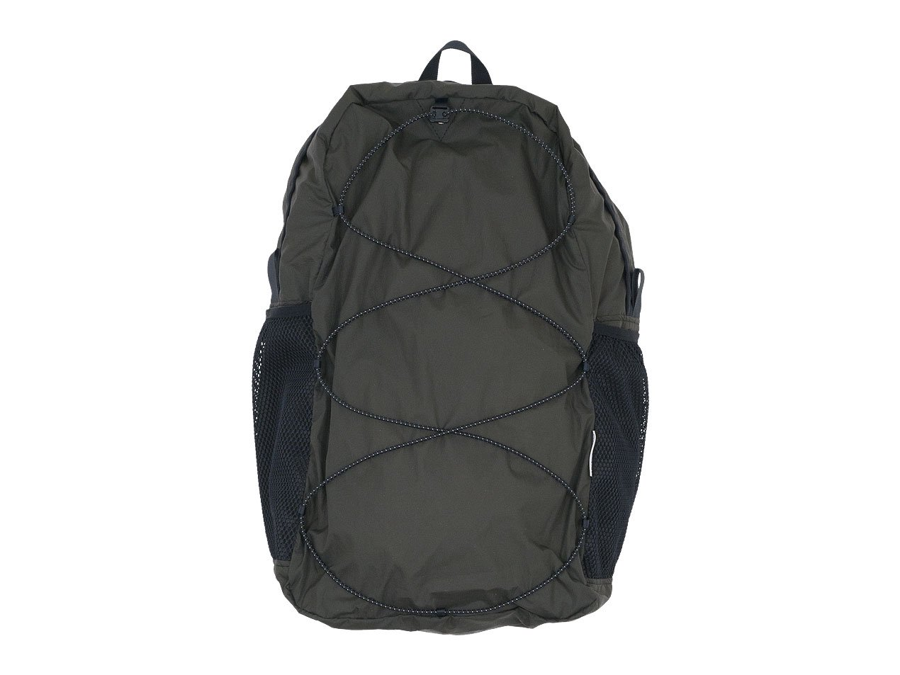 ENDS and MEANS Packable Back Pack AFRICAN BLACK
