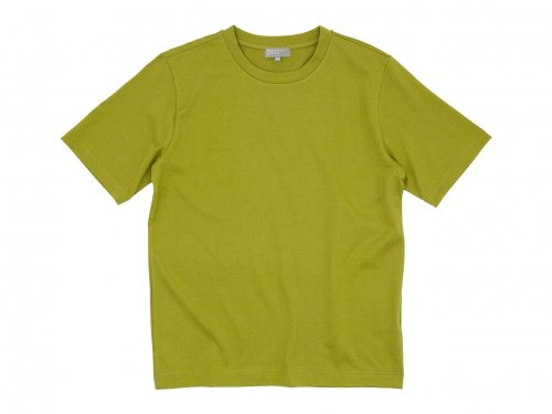 MARGARET HOWELL SUVIN COTTON JERSEY T-SHIRTS 63YELLOW〔メンズ〕