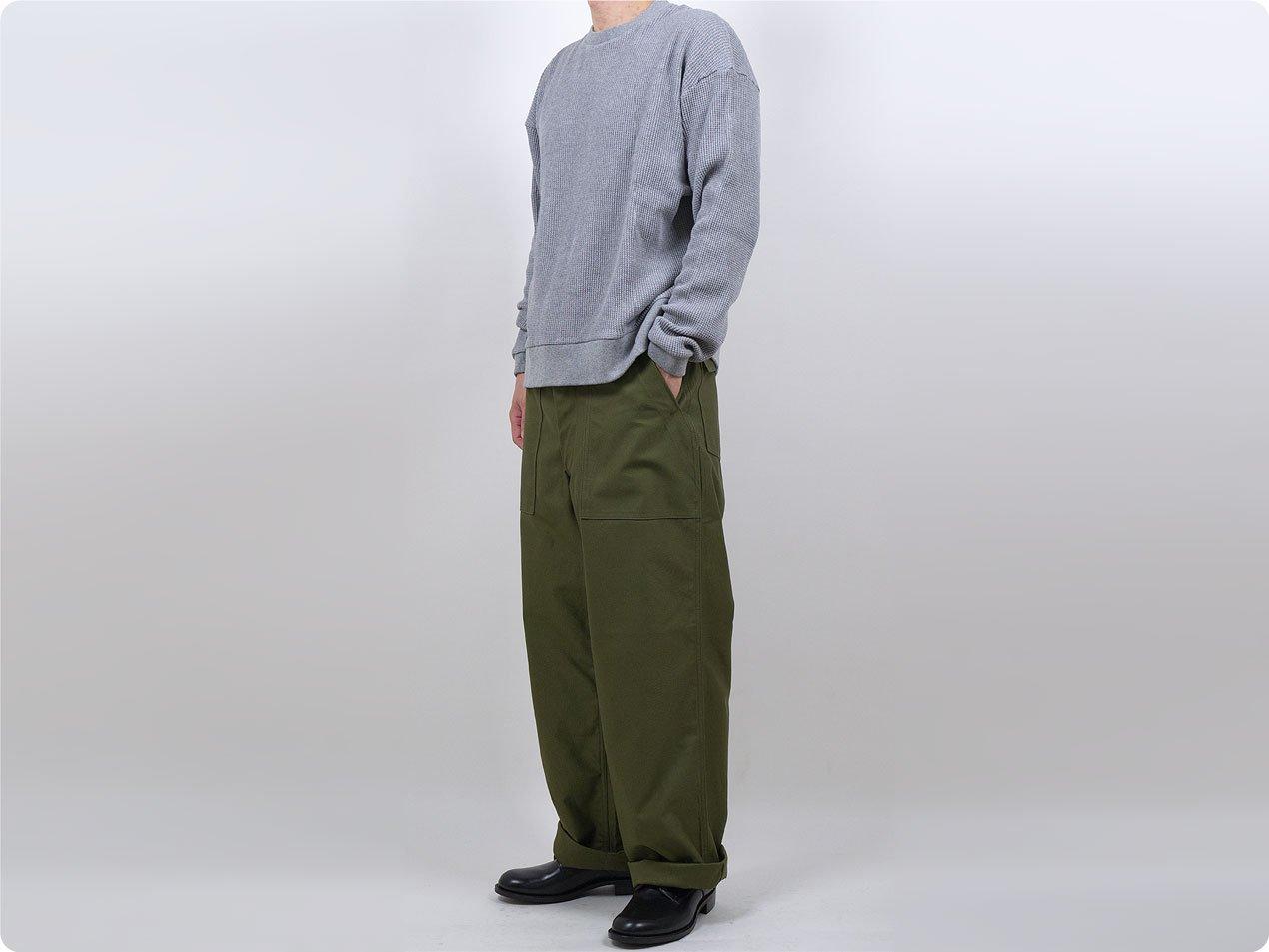 TUKI baker pants 04 O.D.