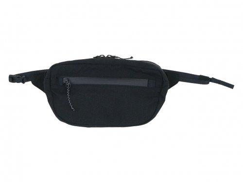 ENDS and MEANS Waist Bag BLACK