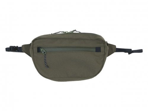 ENDS and MEANS Waist Bag RANGER GREEN