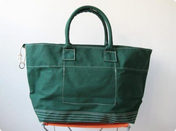 maillot going out boy's tote bag GREEN