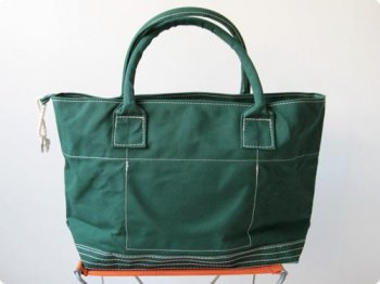 maillot going out girl's tote bag GREEN