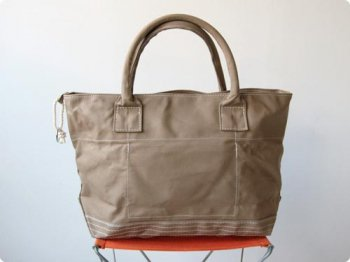 maillot going out girl's tote bag BEIGE
