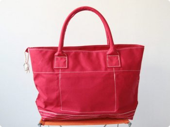 maillot going out girl's tote bag RED