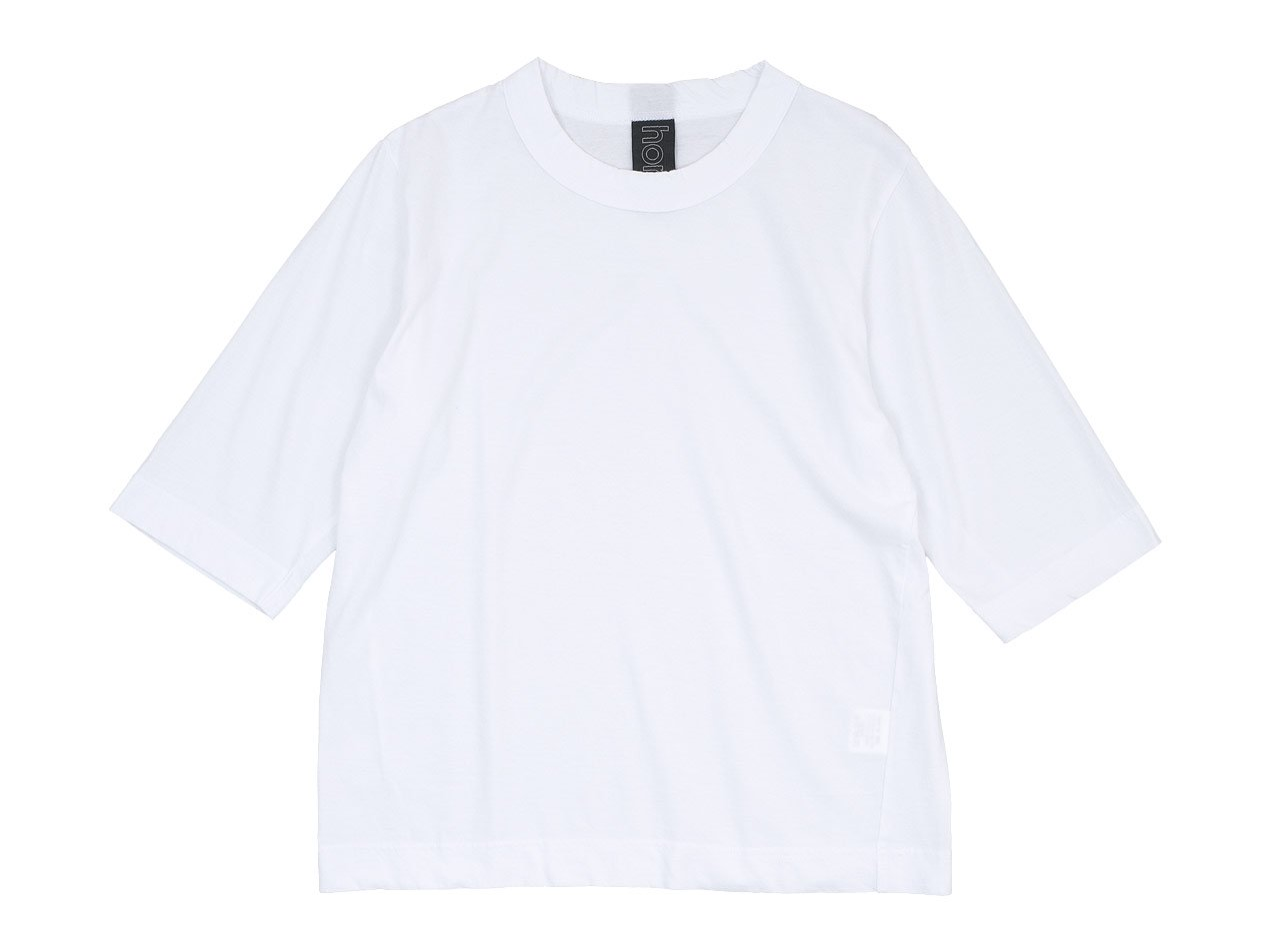 homspun 30/1天竺 六分袖Tシャツ サラシ