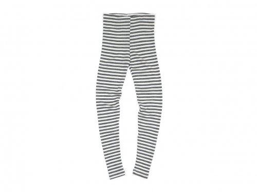 Tam Silk LEGGINGS GRAY x OFF WHITE