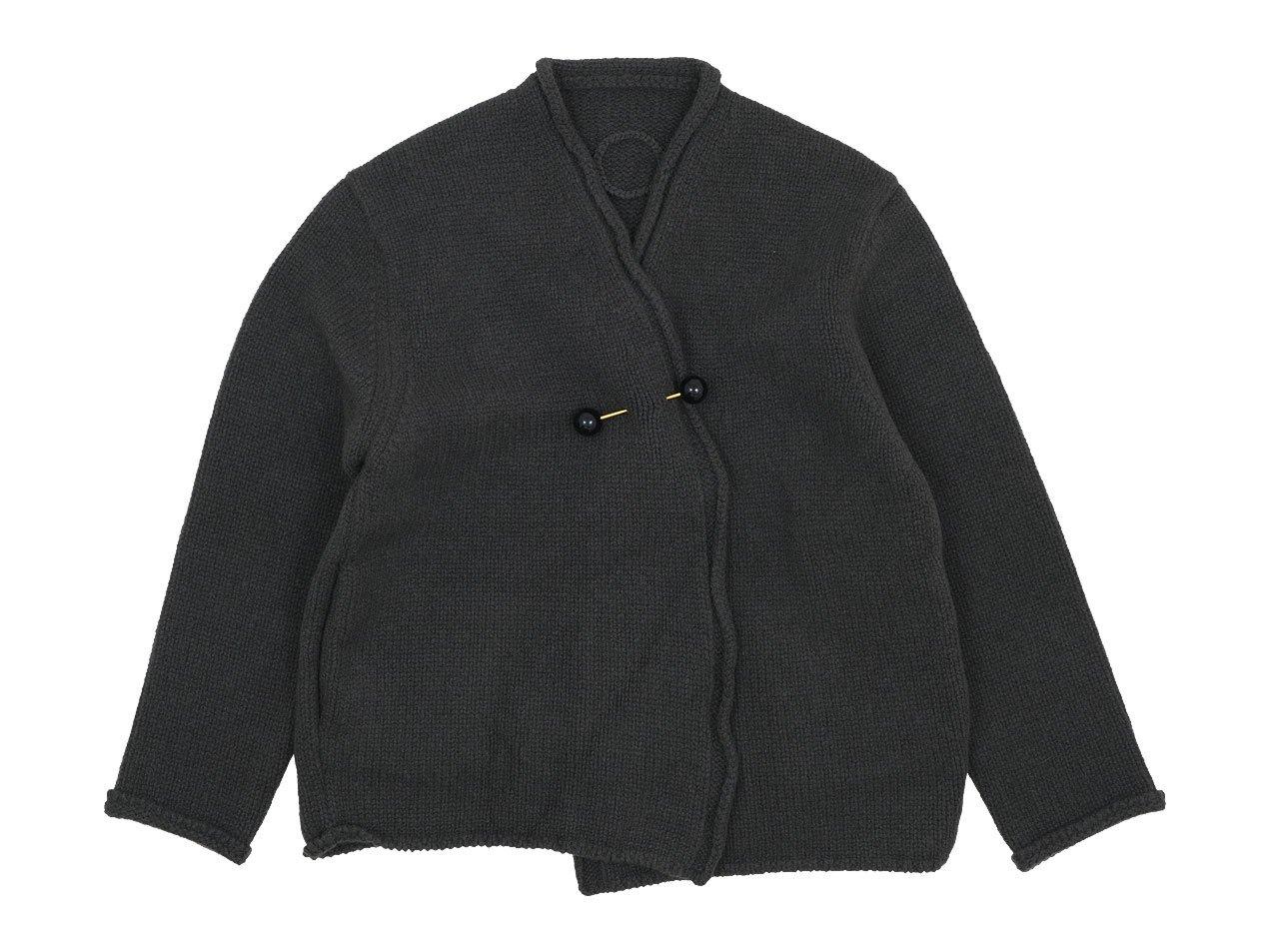 Atelier d'antan Degas(ドガ) Wool Knit Cardigan OLIVE