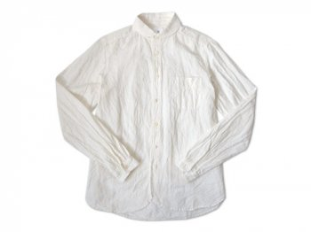 maillot Sunset round collar work shirts WHITE