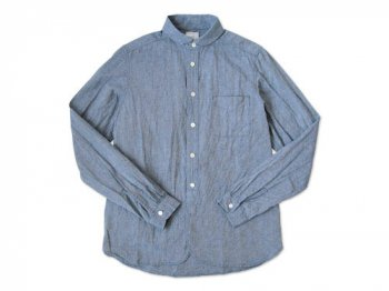 maillot Sunset round collar work shirts BLUE