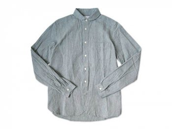 maillot Sunset round collar work shirts GRAY