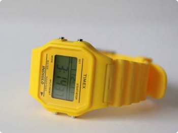 TIMEX80 classic solid YELLOW SWITCH