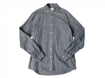maillot roll collar B.D. shirts NAVY
