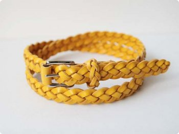 ANGLO 4PLY BRAIDED BELT LIMONE