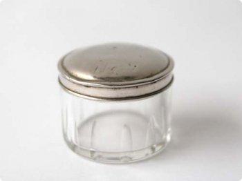 アルミ蓋付きガラス容器 02