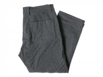 dip cut & sewn double layer pants GRAY