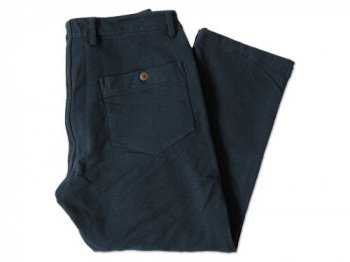 dip cut & sewn double layer pants NAVY
