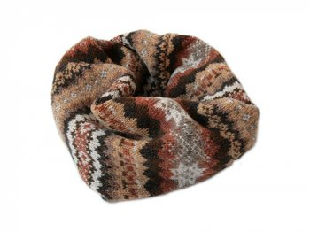 NOR' EASTERLY NECK TUBE FAIRISLE WICKER
