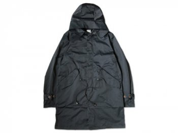 dip cotton nylon coat NAVY