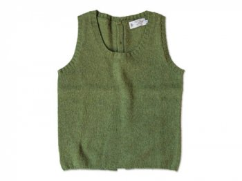 NOR' EASTERLY BACK OPEN VEST OLIVE GROVE