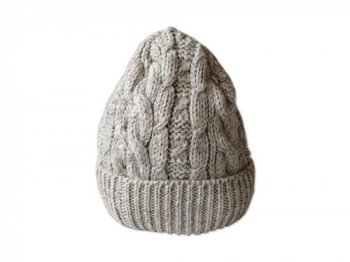 BLACK SHEEP KNIT CAP LIGHT GRAY