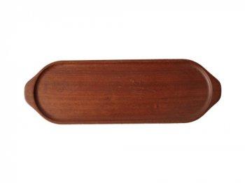 細長い木製トレイ