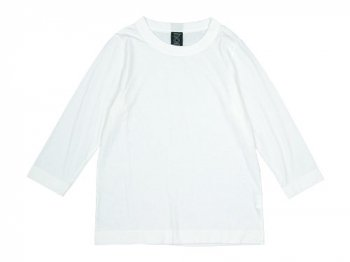 homspun 天竺七分袖Tシャツ サラシ