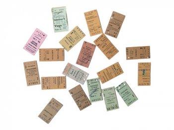 デンマークの古い切符