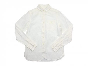 maillot sunset round work shirts WHITE